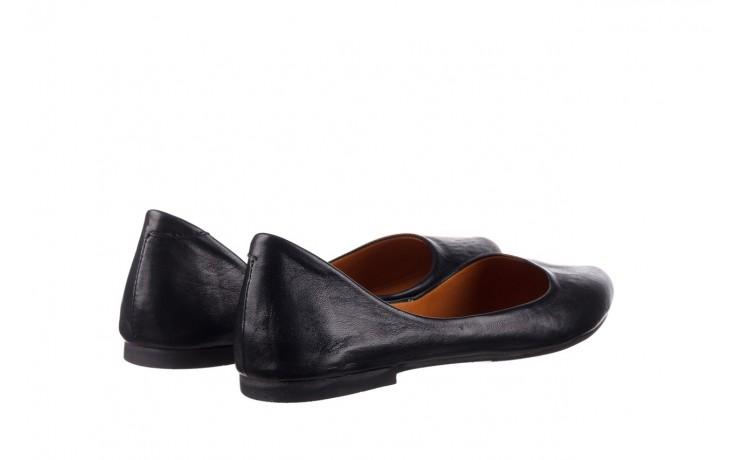 Baleriny bayla-161 066 1000 3 20 black, czarny, skóra naturalna  - skórzane - baleriny - buty damskie - kobieta 3