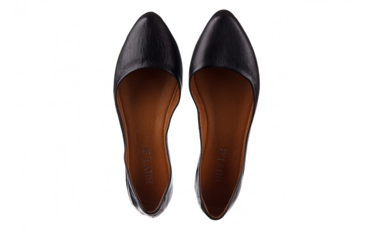 Baleriny bayla-161 066 1000 3 20 black, czarny, skóra naturalna  - skórzane - baleriny - buty damskie - kobieta 4