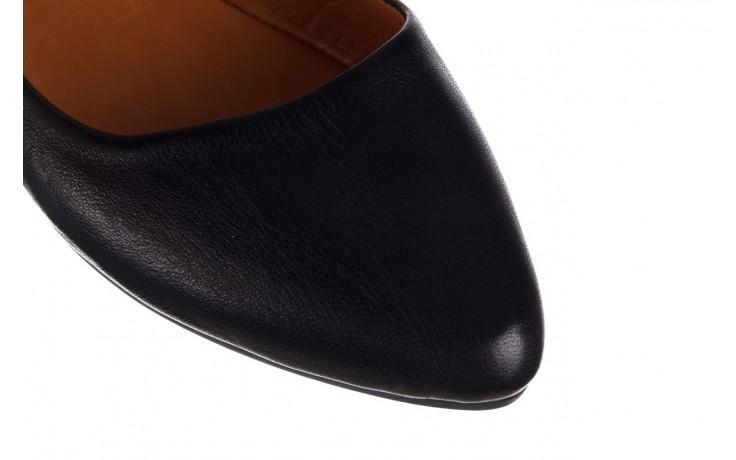 Baleriny bayla-161 066 1000 3 20 black, czarny, skóra naturalna  - skórzane - baleriny - buty damskie - kobieta 5