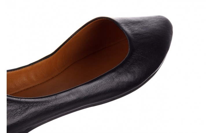 Baleriny bayla-161 066 1000 3 20 black, czarny, skóra naturalna  - skórzane - baleriny - buty damskie - kobieta 7