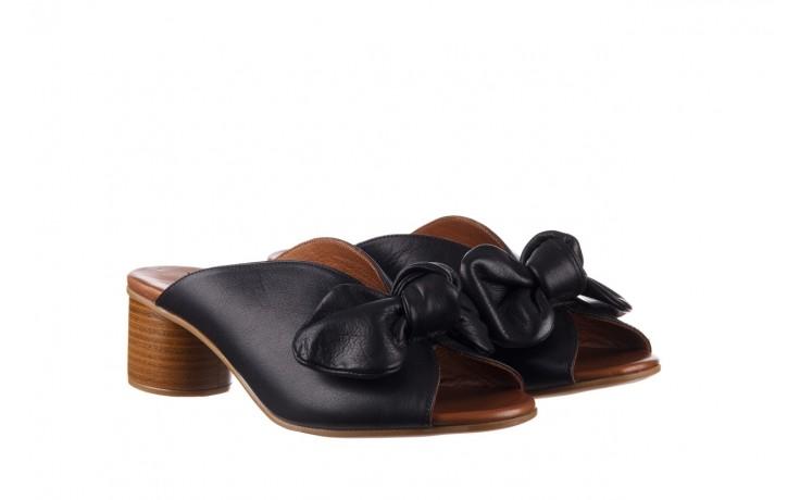 Klapki bayla-161 061 1029 black, czarny, skóra naturalna 1