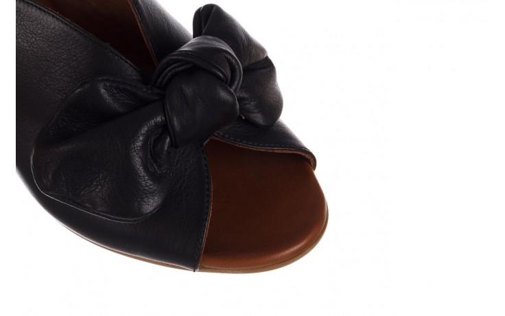 Klapki bayla-161 061 1029 black, czarny, skóra naturalna 5