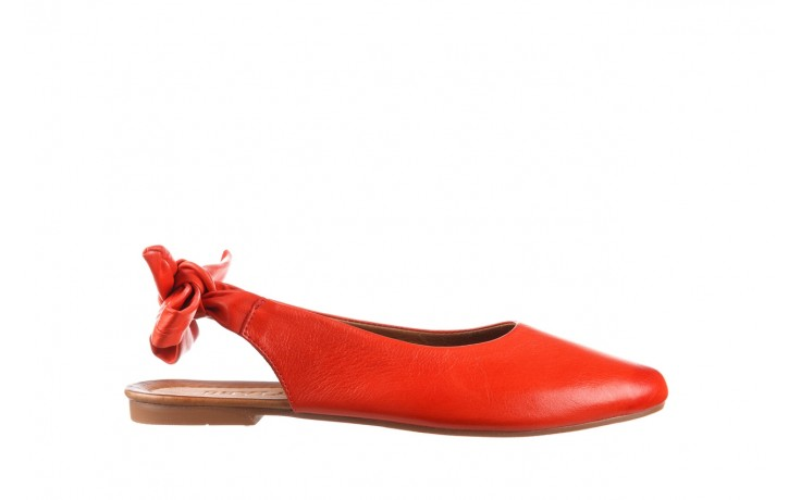 Sandały bayla-161 066 504 310 red, czerwony, skóra naturalna  - bayla - nasze marki