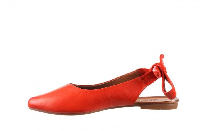 Sandały bayla-161 066 504 310 red, czerwony, skóra naturalna 2