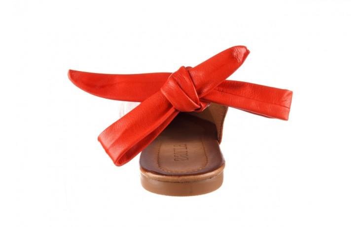 Sandały bayla-161 066 504 310 red, czerwony, skóra naturalna 6