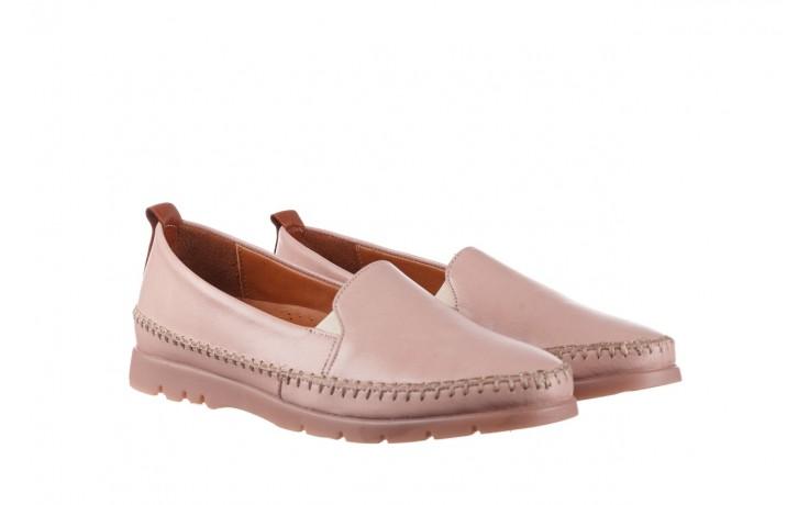 Półbuty bayla-161 078 14305 5 40 nude, róż, skóra naturalna  - skórzane - półbuty - buty damskie - kobieta 1