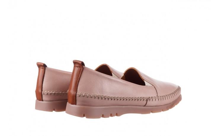 Półbuty bayla-161 078 14305 5 40 nude, róż, skóra naturalna  - skórzane - półbuty - buty damskie - kobieta 3