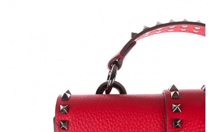 Torebka sca'viola torebka t-18 red, czerwony, skóra naturalna  - sca`viola - nasze marki 6