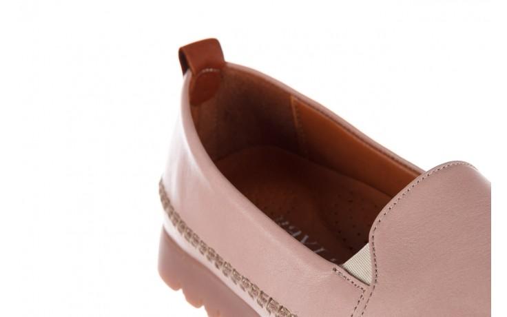 Półbuty bayla-161 078 14305 5 40 nude, róż, skóra naturalna  - skórzane - półbuty - buty damskie - kobieta 7