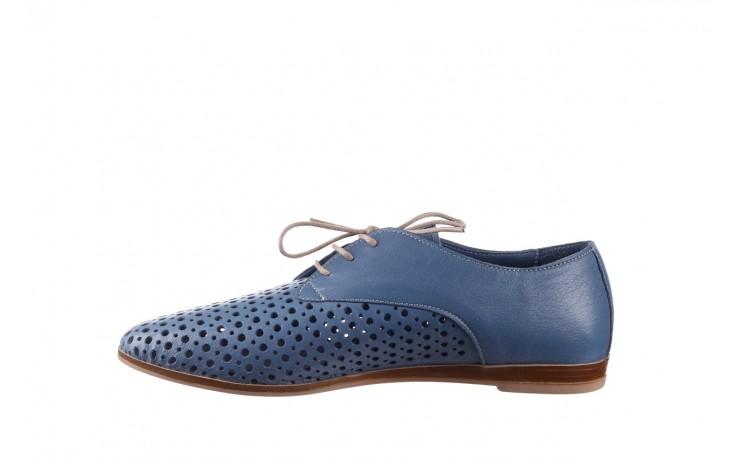 Półbuty bayla-161 138 80129 denim, niebieski, skóra naturalna - skórzane - półbuty - buty damskie - kobieta 2