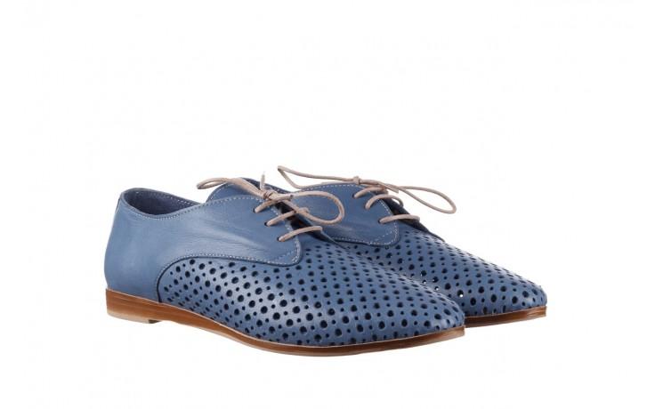 Półbuty bayla-161 138 80129 denim, niebieski, skóra naturalna - skórzane - półbuty - buty damskie - kobieta 1