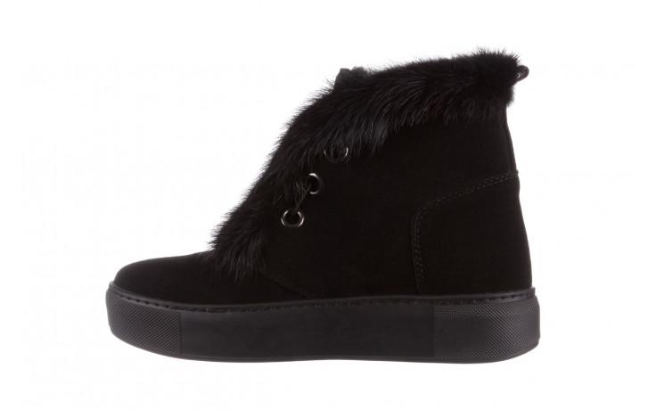 Śniegowce bayla 161 017 2032 black suede 161163, czarny, skóra naturalna  - trendy - kobieta 3