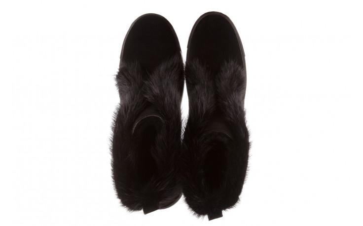 Śniegowce bayla 161 017 2032 black suede 161163, czarny, skóra naturalna  - trendy - kobieta 5