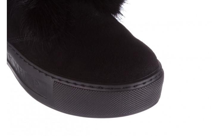 Śniegowce bayla 161 017 2032 black suede 161163, czarny, skóra naturalna  - trendy - kobieta 13