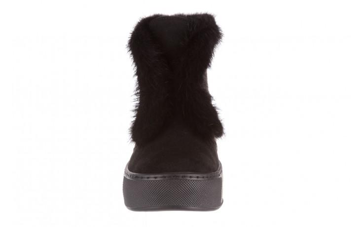 Śniegowce bayla 161 017 2032 black suede 161163, czarny, skóra naturalna  - trendy - kobieta 12