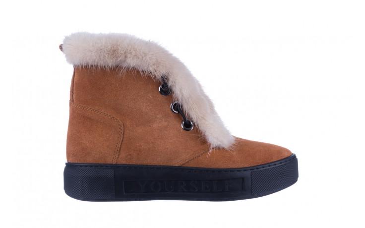 Śniegowce bayla 161 017 2032 105 tan suede 161162, brąz, skóra naturalna  - śniegowce - śniegowce i kalosze - buty damskie - kobieta