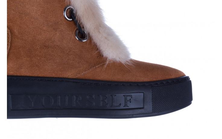 Śniegowce bayla 161 017 2032 105 tan suede 161162, brąz, skóra naturalna  - śniegowce - śniegowce i kalosze - buty damskie - kobieta 9