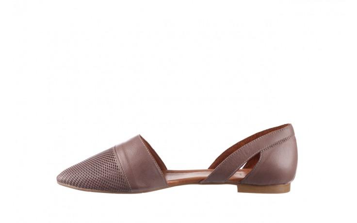 Baleriny bayla-161 074 205 hat, beż, skóra naturalna  - baleriny - buty damskie - kobieta 2