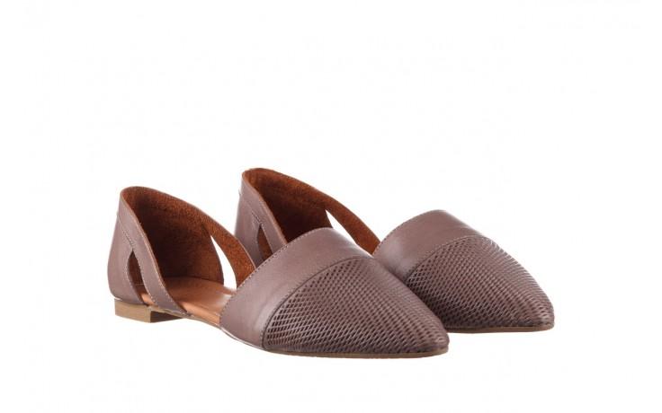 Baleriny bayla-161 074 205 hat, beż, skóra naturalna  - baleriny - buty damskie - kobieta 1