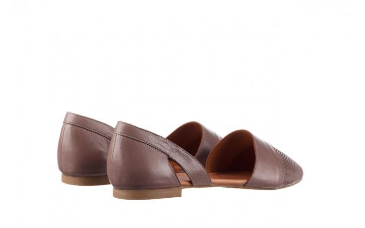 Baleriny bayla-161 074 205 hat, beż, skóra naturalna  - baleriny - buty damskie - kobieta 3