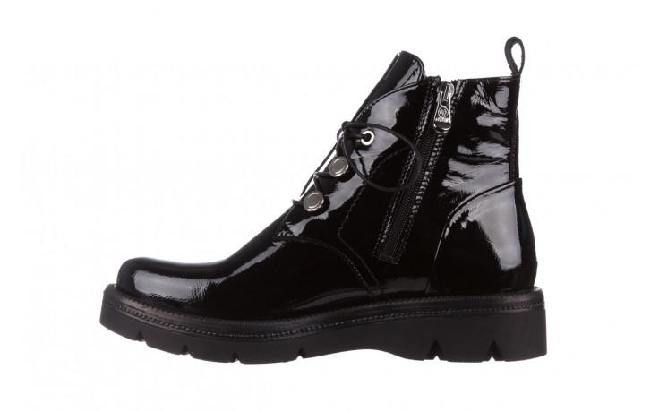 Trzewiki bayla 161 050 4006 400 black patent 161175, czarny, skóra naturalna lakierowana  - trzewiki - buty damskie - kobieta 3