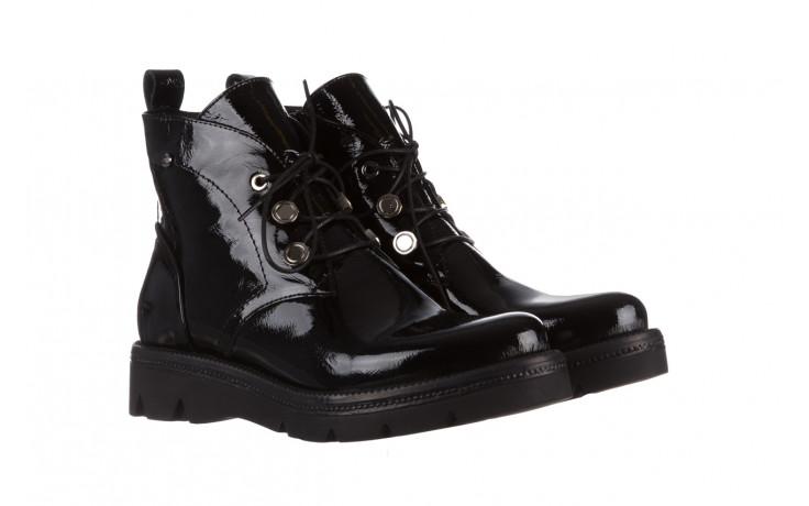 Trzewiki bayla 161 050 4006 400 black patent 161175, czarny, skóra naturalna lakierowana  - trzewiki - buty damskie - kobieta 1