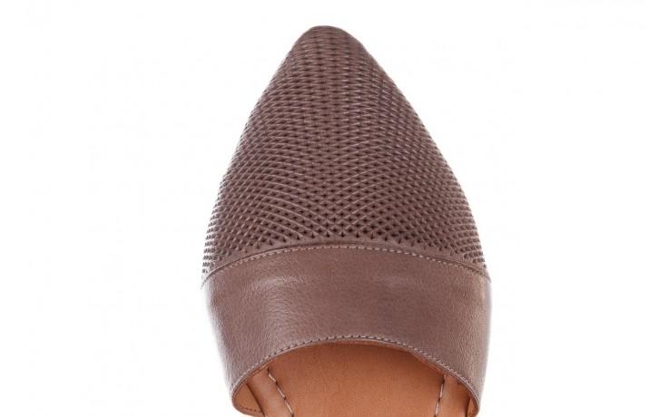 Baleriny bayla-161 074 205 hat, beż, skóra naturalna  - baleriny - buty damskie - kobieta 7