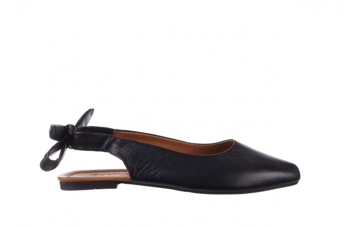 Sandały bayla-161 066 504 3 20 black, czarny, skóra naturalna  - bayla - nasze marki