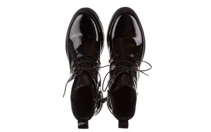 Trzewiki bayla 161 050 4006 400 black patent 161175, czarny, skóra naturalna lakierowana  - trzewiki - buty damskie - kobieta 5