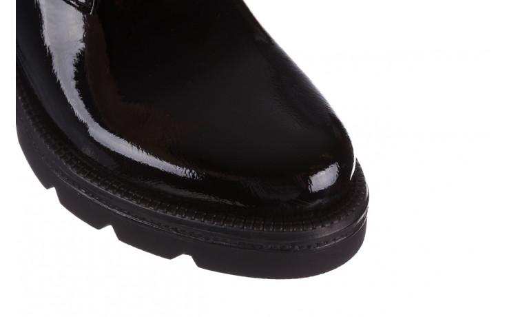 Trzewiki bayla 161 050 4006 400 black patent 161175, czarny, skóra naturalna lakierowana  - trzewiki - buty damskie - kobieta 6