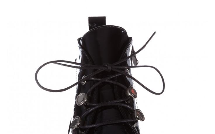 Trzewiki bayla 161 050 4006 400 black patent 161175, czarny, skóra naturalna lakierowana  - trzewiki - buty damskie - kobieta 9