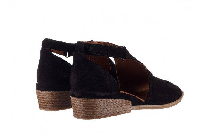 Sandały bayla-161 061 1612 black suede, czarny, skóra naturalna  - skórzane - sandały - buty damskie - kobieta 3