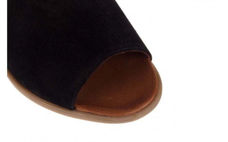 Sandały bayla-161 061 1612 black suede, czarny, skóra naturalna  - skórzane - sandały - buty damskie - kobieta 5