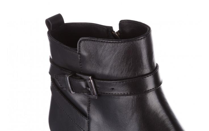 Botki bayla 161 077 47463 black 161182, czarny, skóra naturalna  - skórzane - botki - buty damskie - kobieta 10