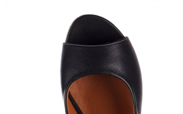 Sandały bayla-161 078 606 3 black, czarny, skóra naturalna  - na koturnie - sandały - buty damskie - kobieta 7