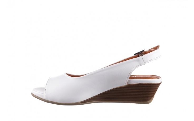 Sandały bayla-161 078 606 3 34 white, biały, skóra naturalna  - sandały - dla niej  - sale 2
