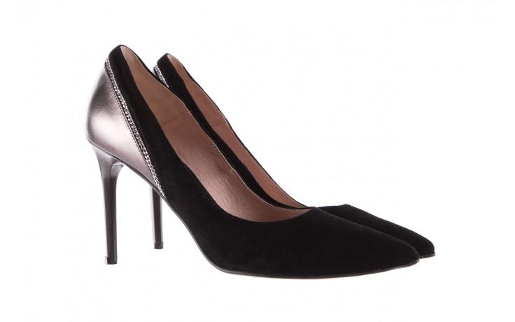 Szpilki bayla-097 17 czarne szpilki, skóra naturalna  - zamszowe - szpilki - buty damskie - kobieta 1