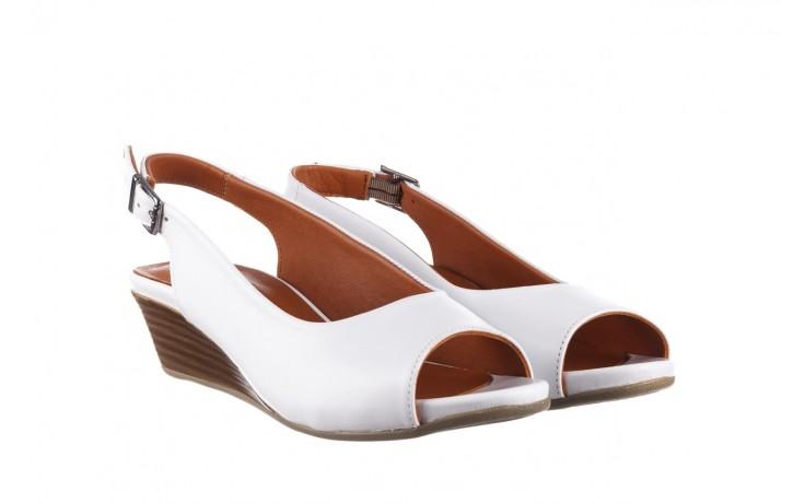 Sandały bayla-161 078 606 3 34 white, biały, skóra naturalna  - sandały - dla niej  - sale 1