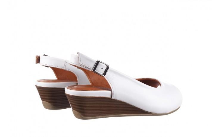 Sandały bayla-161 078 606 3 34 white, biały, skóra naturalna  - sandały - dla niej  - sale 3