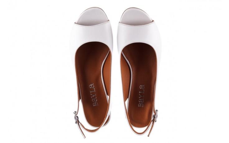 Sandały bayla-161 078 606 3 34 white, biały, skóra naturalna  - sandały - dla niej  - sale 4