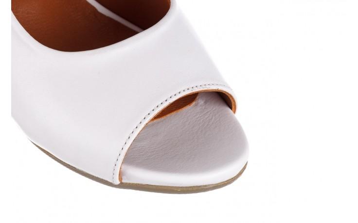 Sandały bayla-161 078 606 3 34 white, biały, skóra naturalna  - sandały - dla niej  - sale 5
