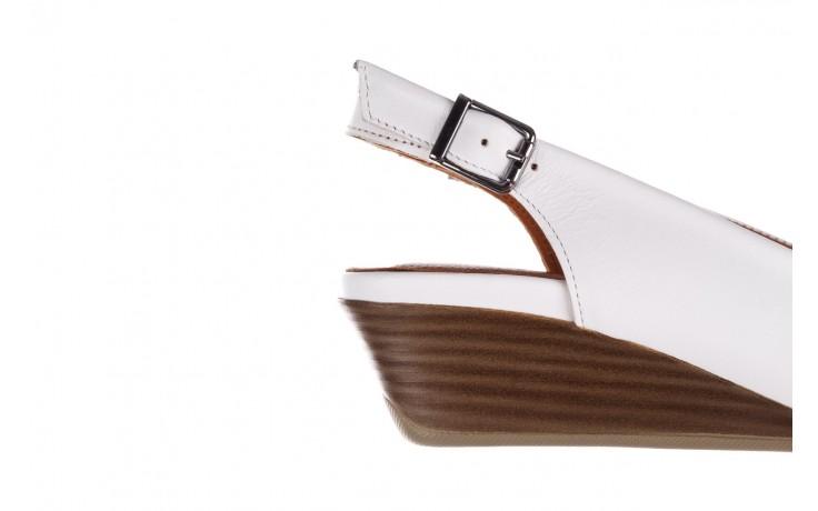 Sandały bayla-161 078 606 3 34 white, biały, skóra naturalna  - sandały - dla niej  - sale 6
