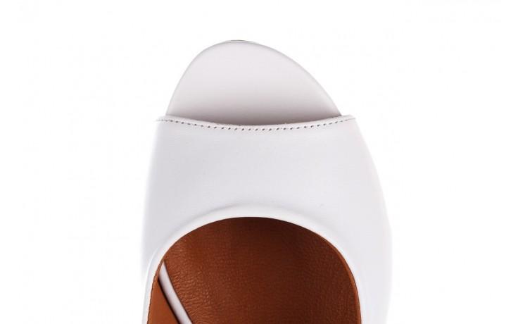 Sandały bayla-161 078 606 3 34 white, biały, skóra naturalna  - sandały - dla niej  - sale 7