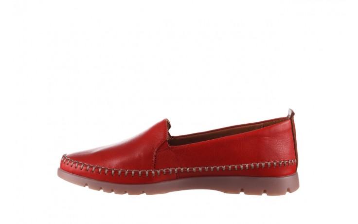 Półbuty bayla-161 078 14305 5 02 red, czerwony, skóra naturalna  - półbuty - buty damskie - kobieta 2