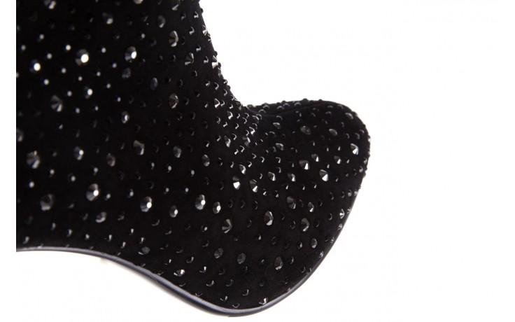 Botki sca'viola f-102 black suede, czarny, skóra naturalna  - sca`viola - nasze marki 8