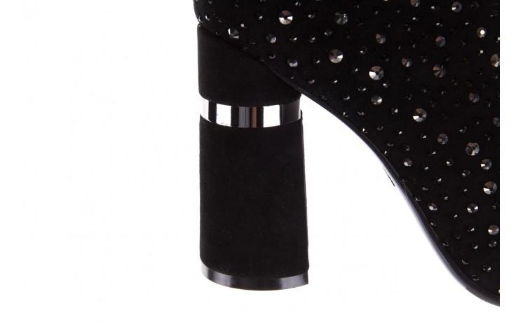 Botki sca'viola f-102 black suede, czarny, skóra naturalna  - sca`viola - nasze marki 7
