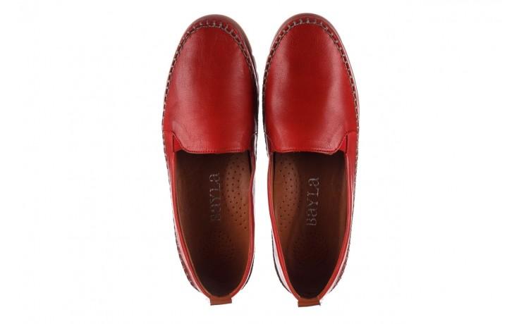 Półbuty bayla-161 078 14305 5 02 red, czerwony, skóra naturalna  - półbuty - buty damskie - kobieta 4