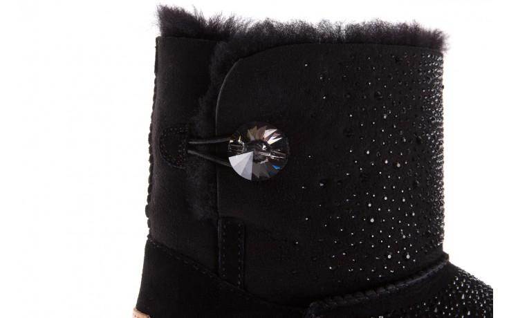 Śniegowce sca'viola f-116 black, czarne, skóra naturalna 7