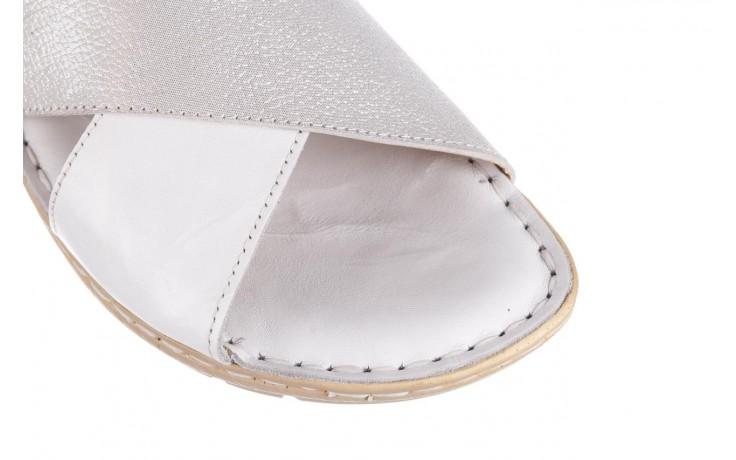 Sandały bayla-161 016 740 white print, biały, skóra naturalna - sandały - buty damskie - kobieta 6