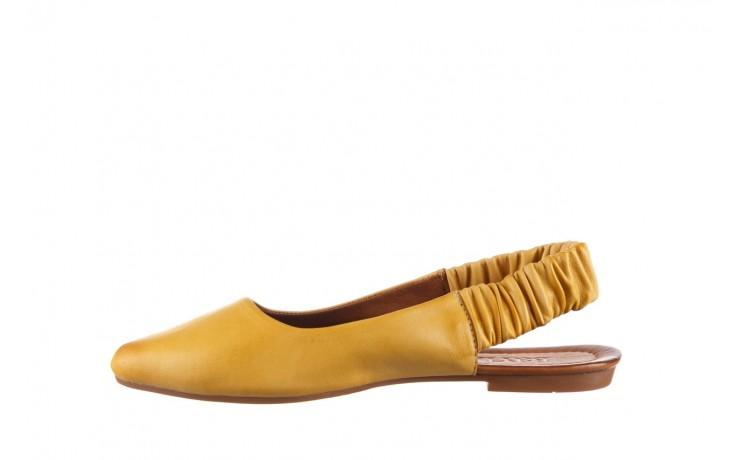 Sandały bayla-161 066 730 353 yellow, żółty, skóra naturalna  - sandały - dla niej  - sale 2